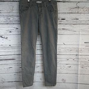cAbi skinny jeans grey size 6